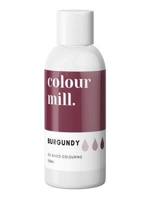 Colour Mill Oil Based Gel Colour -BURGUNDY 100ml - Χρώμα Σοκολάτας σε Τζελ Μπορντώ