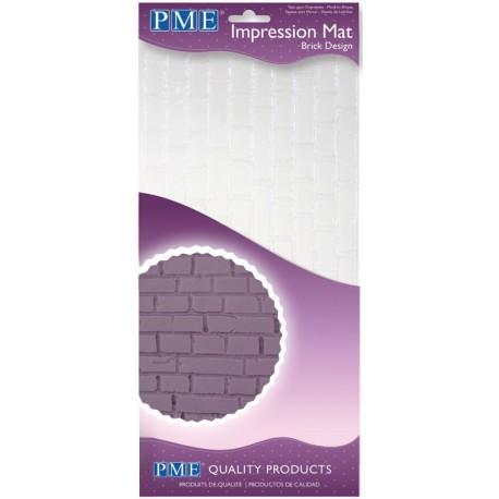 PME Impression Mat -BRICK -Πατάκι Αποτύπωσης Σχεδίου Τούβλο