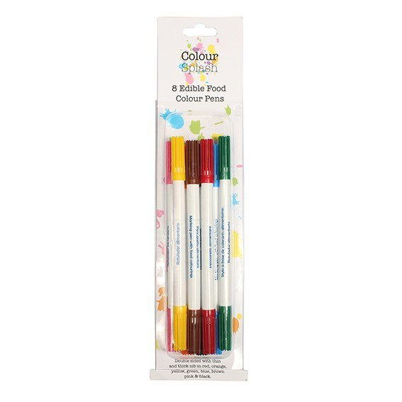 Colour Splash Food Pens PACK OF 8 -Σετ 8 Μαρκαδόρων