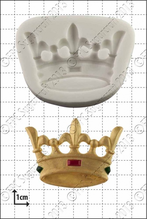 FPC Silicone Mould -CROWN -Καλούπι Στέμμα