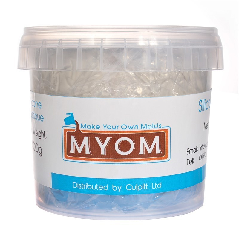 Make Your Own Molds Silicone Plastique Putty Mould Making Kit 200γρ - Σιλικόνη για Κατασκευή Καλουπιού