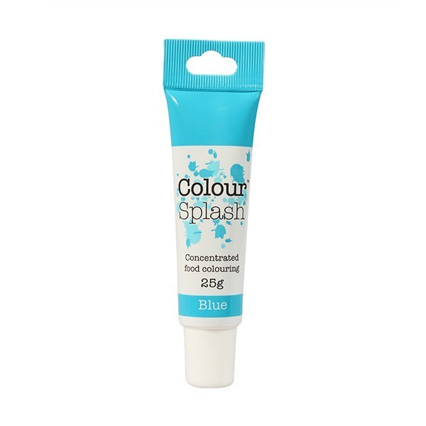 Colour Splash GEL -BLUE -Χρώμα Τζελ-Μπλε 25γρ