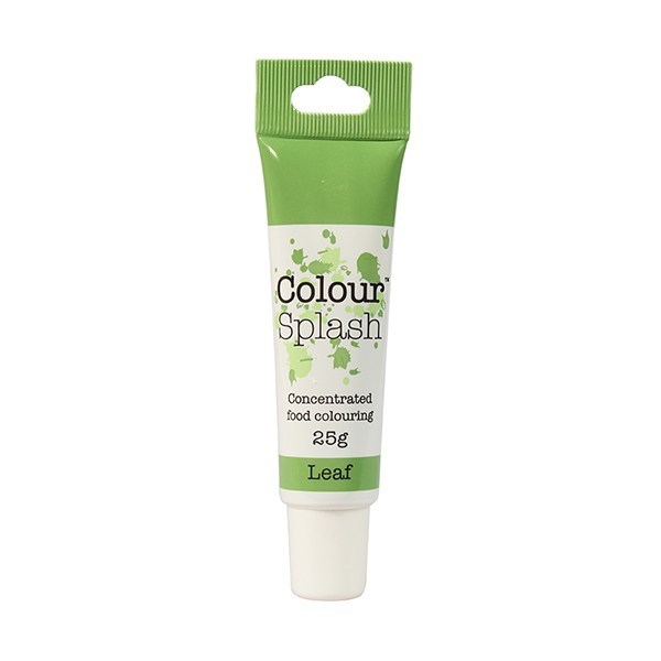 Colour Splash GEL -LEAF GREEN -Χρώμα Τζελ-Πράσινο του Φύλλου 25γρ