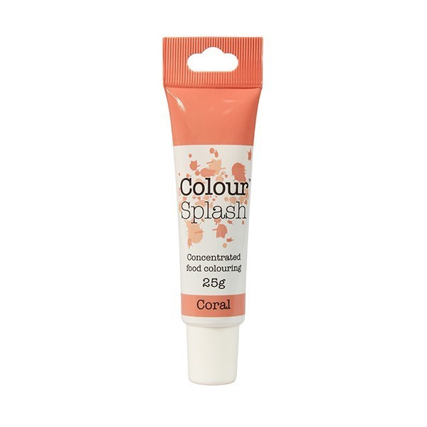 Colour Splash GEL -CORAL -Χρώμα Τζελ-Κοραλί 25γρ