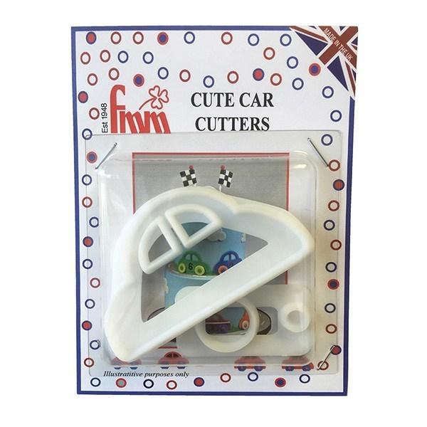 FMM Cutters -CUTE CAR - Σετ 3τεμ Κουπ πατ Αυτοκινητάκι