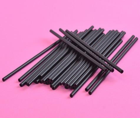 Cake Pop Sticks -BLACK -Μαύρα Στικάκια για Cake Pops -15εκ -25τμχ