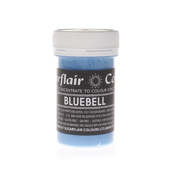 Sugarflair Paste Colours -BLUEBELL -Χρώμα σε Πάστα -Γαλάζιο