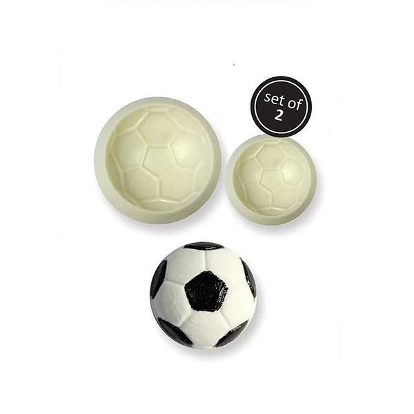 JEM Pop It Mould -FOOTBALL - Σετ 2τεμ καλούπι Μπάλα Ποδοσφαίρου