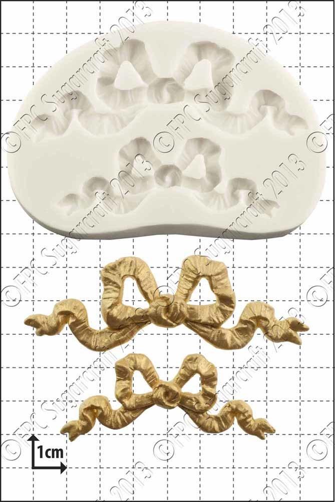 SALE!!! FPC Silicone Mould -RIBBON BOWS -Καλούπι Σιλικόνης Κορδέλα Φιόγκος