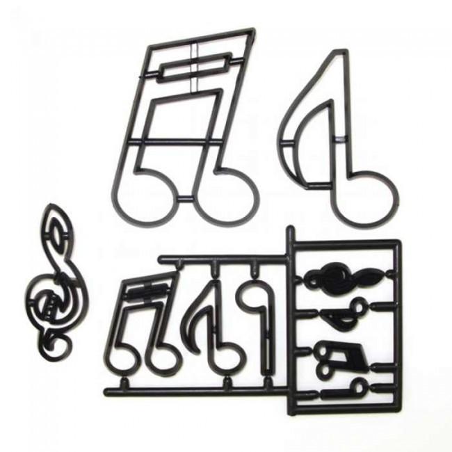 Patchwork Cutters -EXTRA LARGE MUSIC NOTES - Κουπ πατ Μουσικές Νότες Μεγάλες