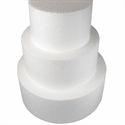 SALE!!! Φελιζόλ Round Cake Dummy 50cm. (10cm high) -Στρογγυλό 50εκ.
