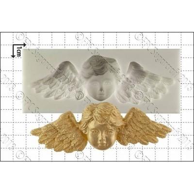 FPC Silicone Mould -WINGED CHERUB -Καλούπι Σιλικόνης Φτερωτό Αγγελάκι