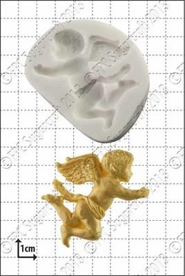 FPC Silicone Mould -FLYING CHERUB -Καλούπι Σιλικόνης Ιπτάμενο Αγγελάκι