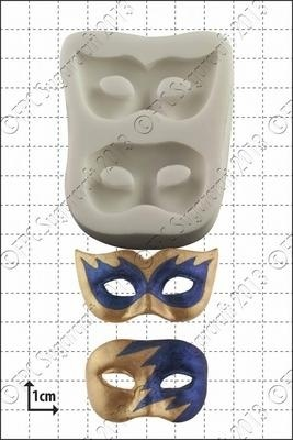 FPC Silicone Mould -MASQUERADE MASKS -Καλούπι Σιλικόνης Μάσκες Μασκαράδων