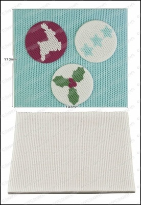 SALE!!! FPC -Silicone Texture Mat -KNITTING -Πατάκι Σιλικόνης  με Υφή Πλέξης
