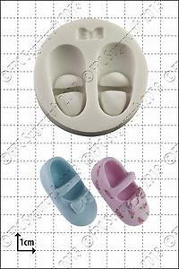 FPC Silicone Mould -BABY SHOES & BOW -Καλούπι Παιδικά Παπουτσάκια & Φιογκάκια