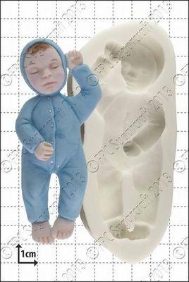 SALE!!! FPC -Silicone Mould -SLEEPING BABY 2 -Καλούπι Σιλικόνης Μωράκι που κοιμάται 2