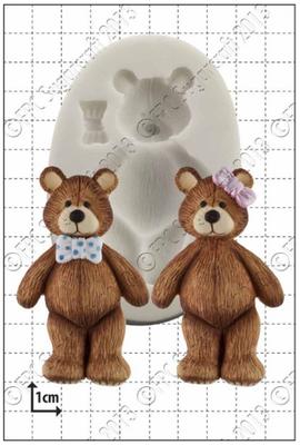 FPC Silicone Mould -TEDDY BEAR -Καλούπι Αρκουδάκι