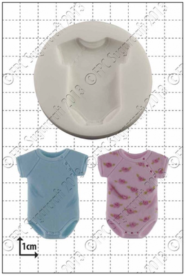 FPC Silicone Mould -BABY SLEEPSUIT -Καλούπι Φορμάκι Μωρού