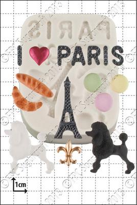 FPC Silicone Mould -PARIS -Καλούπι Παρίσι