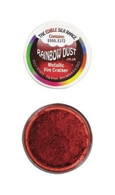 By Rainbow Dust Edible Dust -Metallic FIRE CRACKER -Βρώσιμη Σκόνη Μεταλλική Κόκκινο Πυροτέχνημα ∞