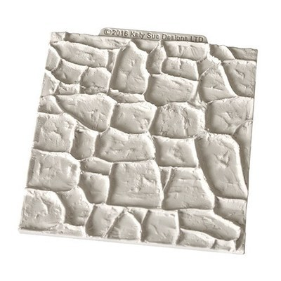 Katy Sue Silicone Embossing Mat -STONE -Πατάκι Σιλικόνης Πέτρα