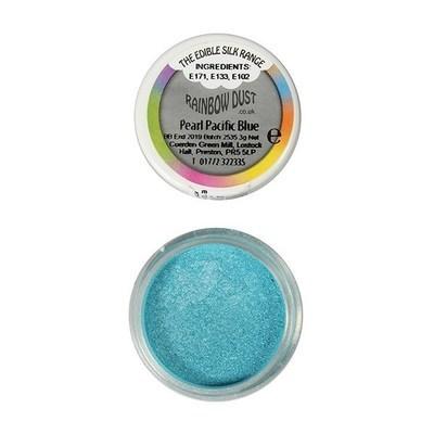 Rainbow Dust Edible Dust -Pearl PALE PACIFIC BLUE -Βρώσιμη Σκόνη Περλέ Μπλε του Ειρηνικού