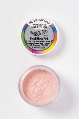 Rainbow Dust Edible Dust -Pearl BLUSH PINK -Βρώσιμη Σκόνη Περλέ Απαλό Ροζ