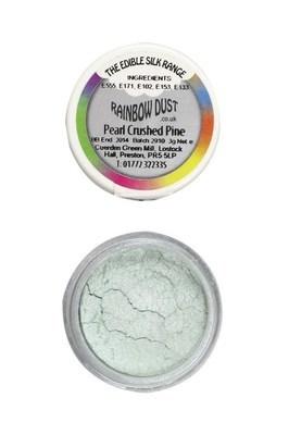 Rainbow Dust Edible Dust -Pearl CRUSHED PINE -Βρώσιμη Σκόνη Περλέ Πράσινο Θρυμματισμένο Πεύκο (Βεραμάν)