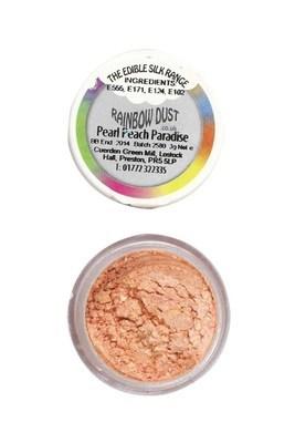 Rainbow Dust Edible Dust -Pearl PEACH PARADISE -Βρώσιμη Σκόνη Περλέ Παραδεισένιο Βερικοκί