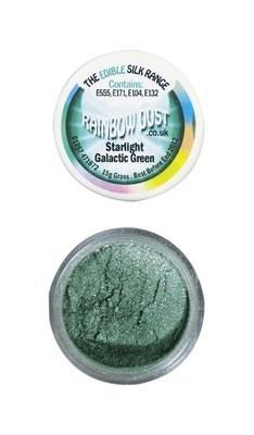 Rainbow Dust Edible Dust -Starlight GALACTIC GREEN -Βρώσιμη Σκόνη Αστραφτερό Πράσινο του Γαλαξία