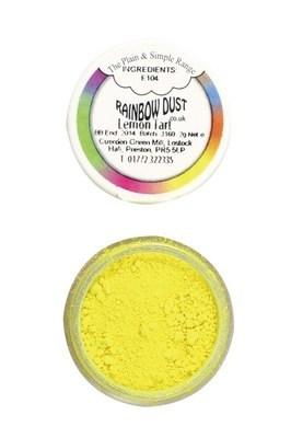 Rainbow Dust Edible Dust -Matt LEMON TART -Βρώσιμη Σκόνη Ματ Χρώμα Τάρτας Λεμονιού