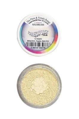 SALE!!! Rainbow Dust Edible Dust -Matt CREAM -Βρώσιμη Σκόνη Ματ Κρεμ ΑΝΑΛΩΣΗ ΚΑΤΑ ΠΡΟΤΙΜΗΣΗ 12/20