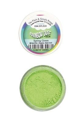 SALE!!! Rainbow Dust Edible Dust -Matt SPRING GREEN -Βρώσιμη Σκόνη Ματ Πράσινο της Άνοιξης ΑΝΑΛΩΣΗ ΚΑΤΑ ΠΡΟΤΙΜΗΣΗ 12/23