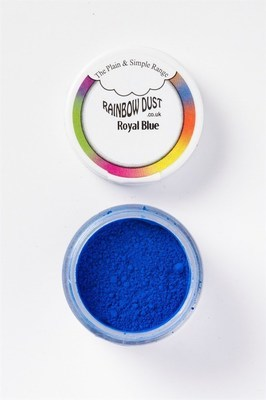Rainbow Dust Edible Dust -Matt ROYAL BLUE -Βρώσιμη Σκόνη Ματ Βασιλικό Μπλε