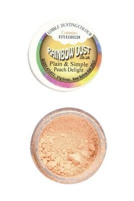 SALE!!! Rainbow Dust Edible Dust -Matt PEACH DELIGHT -Βρώσιμη Σκόνη Ματ Ροδακινί ΑΝΑΛΩΣΗ ΚΑΤΑ ΠΡΟΤΙΜΗΣΗ 12/2021