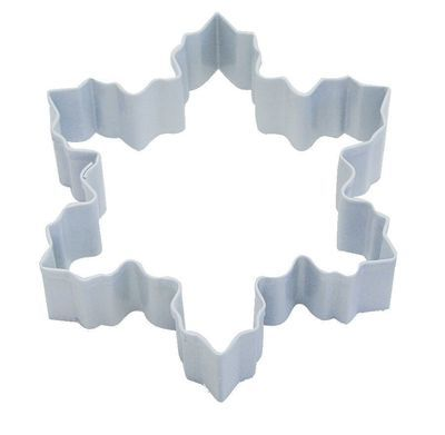 By AH -Cookie Cutter -SNOWFLAKE -WHITE -LARGE - Κουπ πατ Μεγάλη Λευκή Χιονονιφάδα 10εκ