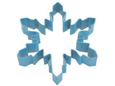 SALE!!! By AH -Cookie Cutter -SNOWFLAKE -BLUE -LARGE - Κουπ πατ Μεγάλη Μπλε Χιονονιφάδα 13εκ