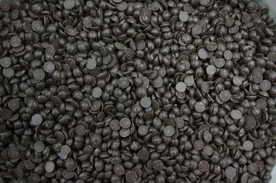 Chocolate Drops -DARK CHOCOLATE Couverture -Σταγόνες Σοκολάτας Yγείας (Κουβερτούρα) 1 κιλό