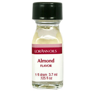 LorAnn - Oils Super Strength Food Flavouring Almond - Φυσικό Έλαιο Αμυγδάλου - 3.7ml ∞