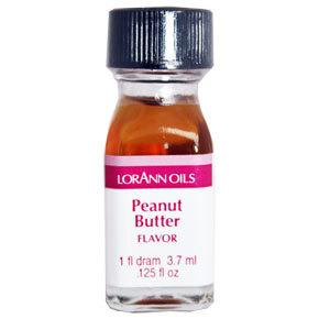 SALE!!! LorAnn - Oils Super Strength Food Flavouring Peanut Butter - Φυσικό Έλαιο Φυστικοβούτυρο - 3.7ml  ΑΝΑΛΩΣΗ ΚΑΤΑ ΠΡΟΤΙΜΗΣΗ 1/21