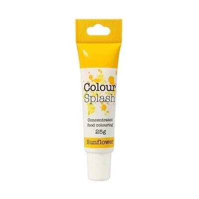 Colour Splash GEL -SUNFLOWER -Χρώμα Πάστας -Ηλιοτρόπιο 25γρ