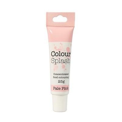Colour Splash GEL -PALE PINK -Χρώμα Πάστας -Απαλό Ροζ 25γρ