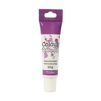 Colour Splash GEL -VIOLET -Χρώμα Πάστας -Βιολετί 25γρ