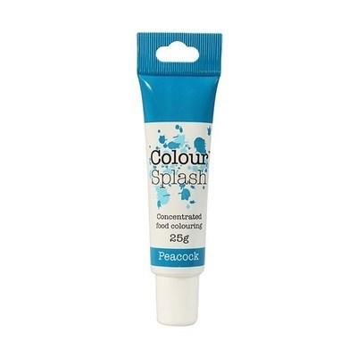 Colour Splash GEL -PEACOCK BLUE -Χρώμα Τζελ -Παγώνι (Μπλε) 25γρ