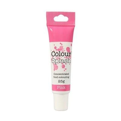 Colour Splash GEL -PINK -Χρώμα Τζελ -Ροζ 25γρ