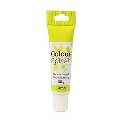 Colour Splash GEL -LIME -Χρώμα Πάστας -Λάϊμ 25γρ