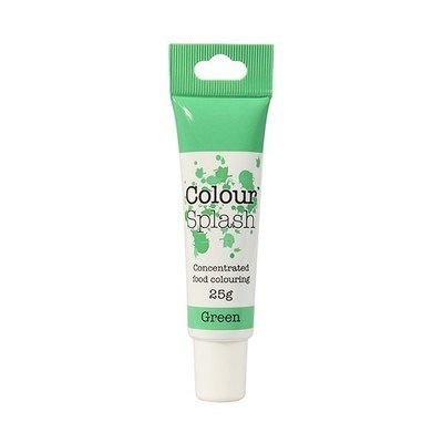Colour Splash GEL -GREEN -Χρώμα Τζελ-Πράσινο 25γρ