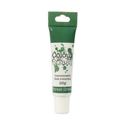 Colour Splash GEL -FOREST GREEN -Χρώμα Πάστας -Πράσινο του Δάσους 25γρ