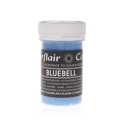 Sugarflair Paste Colours -BLUEBELL -Χρώμα σε Πάστα -Γαλάζιο 25γρ